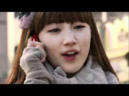 what was the song that hye mi sang to baek hee when she was going to police centre