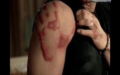Who left this on Dean?