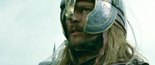"Eomer: ""We ride ______!"""