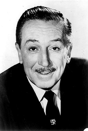 What mwaka was Walt Disney born
