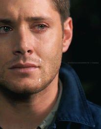 "in VAN CON jensen said that ""i wanted to do the guy who cry so much(dean)"",is it true or false?"