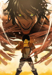In his first transformation how many titans killed Eren ?