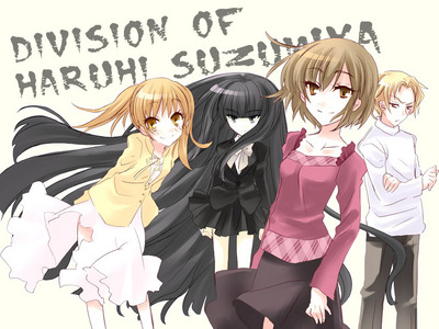 Who are these new Haruhi Suzumiya characters names?