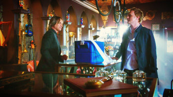"""2x05 """"The Doctor"""", what did Mr. Gold make Dr. Whale say, before he attached back his arm?"""