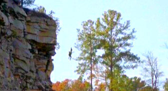 "4x14 ""Down The Rabbit Hole"", True या False. Rebekah pushes Elena off the cliff."