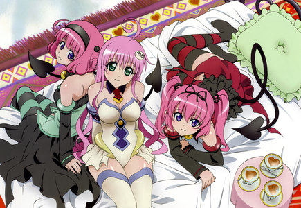 Which of the following Black Cat characters does NOT appear in To-LOVE-ru?