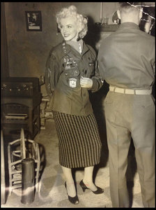 This photograph of Marylin was taken while in Korea back in 1954