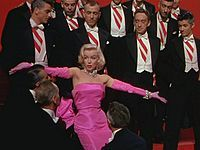 What 1953  film did Marylin portray Lorelai Lee