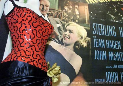 "This is the dress Marylin wore in the 1954 film, ""The River Of No Return"""