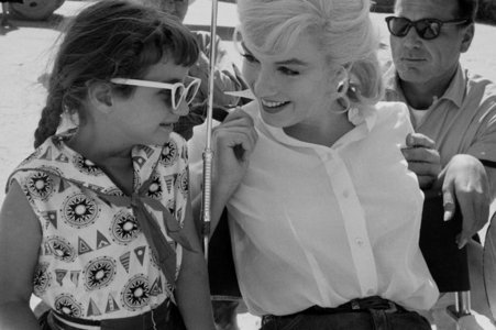 "Who said: ""To understand Marilyn best, u have to see her around children. They love her."""