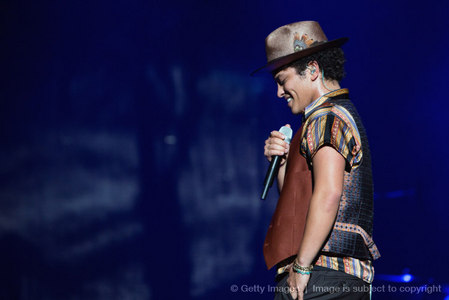 Bruno Mars cited Michael Jackson as one of his early vocal infuences