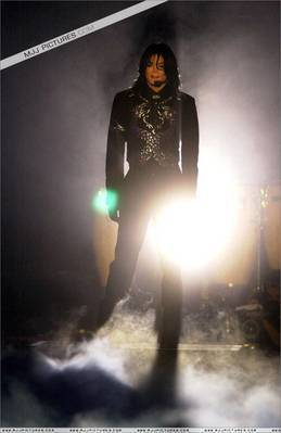 What awards ceremony was this photograph of Michael taken