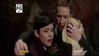 What happened right before this picture of Charming, Snow, and Emma?