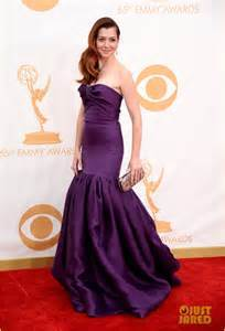 Who selected Alyson's dress for Emmys 2013?