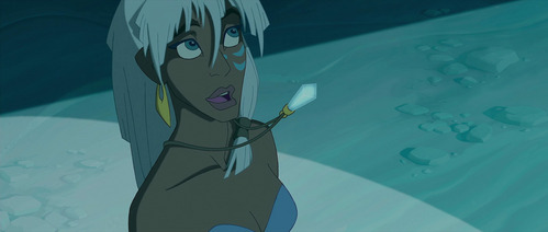 (Atlantis: The হারিয়ে গেছে Empire) What did Kida say this picture?