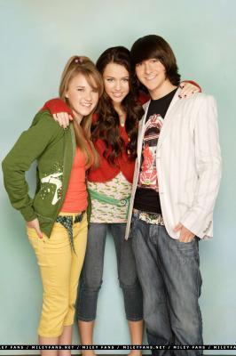 Who are Miley's friends?