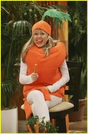 In this episode, what show was Hannah Montana on when she told every one that she loved carrots?