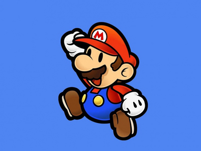 What was the first Paper Mario tiêu đề released for a handheld console?
