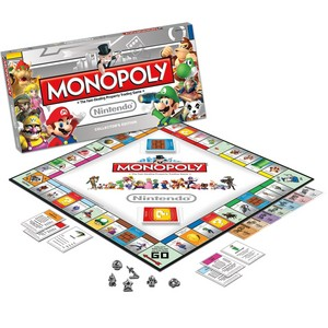 One is NOT a token in the Nintendo Collector's Edition of Monopoly