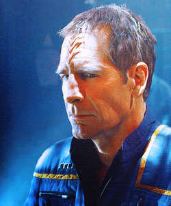 How old was Scott Bakula when he made stella, star Trek: Enterprise?