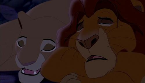 "Sarabi: ""Your son is awake"" ... What is Mufasa's response?"
