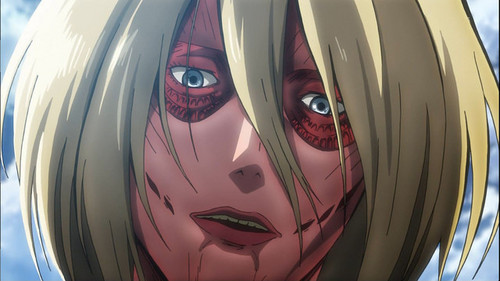 Who is the Female titan?
