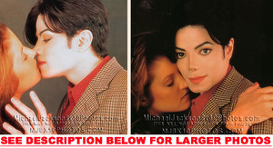 "Michael dedicated his 1995 Epic release, ""History"", to first wife, Lisa Marie Presley"