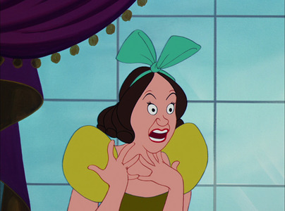 What is Drizella saying?