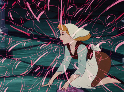 What bursts Cinderella's bubbles?
