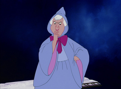 Where did the Fairy Godmother remember she put her wand?