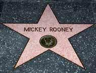 Mickey Rooney's Hollywood Walk of Fame. What street ?