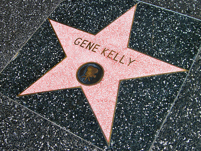 Gene Kelly's Hollywood Walk of Fame. What street ?