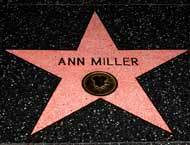 Ann Miller s Hollywood  Ann Miller's Hollywood Walk of Fame. What street ?