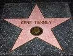 Gene Tierney's Hollywood Walk of Fame. What street ?