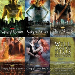 Which is the mwandishi of the book series:The Mortal Instruments?
