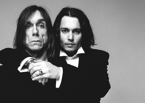 Johnny Depp insulted Iggy Pop to get his attention, what did Iggy say to him?