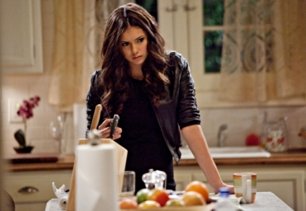Who did Katherine say this to: 'We both know I can rip you to shreds and do my nails at the same time.'