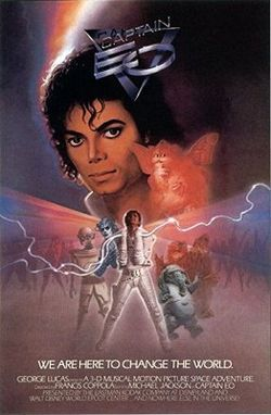 "The 3-D science fiction film, ""Captain Eo"", was released on September 12, 1986 at Disneyworld's Epcot Center in Orlando, Florida"