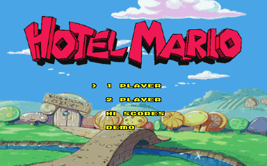 What platform Hotel Mario runs on?