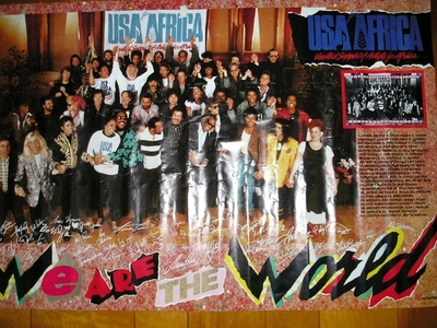"""Al Jarreau was a featured vocalist in the 1985 video """"We Are The World"""""""