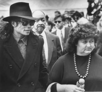 This photograph of Michael was taken at good friend, Ryan White's, funeral back in 1990