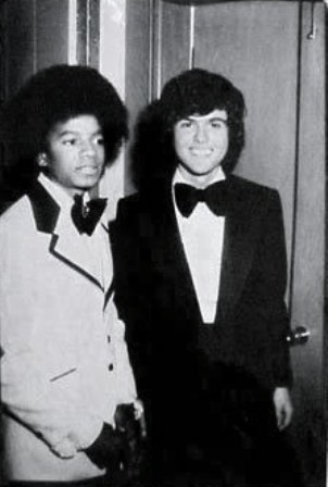 Despite the showbiz rivalry, Michael and Donny Osmond were real good friends