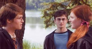 Which of his parents' Patronuses does Harry's Patronus take after?