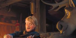 What musical instrument does Kristoff play?