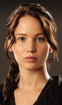 Katniss Everdeen from The Hunger Games goes with ________.