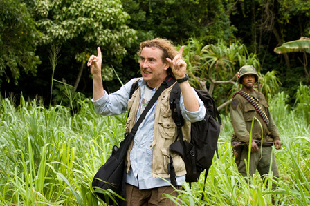 What happen to Steve Coogan's role in Tropic Thunder?