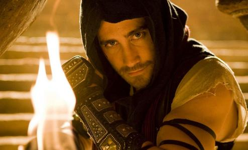 Dastan from Prince of Persia goes with ______.