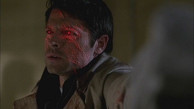 Whose memories is Castiel taking on?