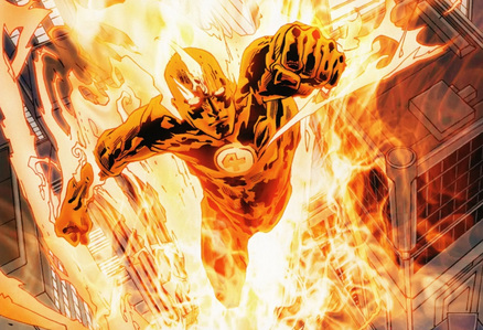 MARVEL COMICS - What is Human Torch's real name?