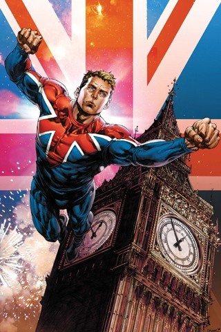 MARVEL COMICS - What is Captain Britain's real name?
